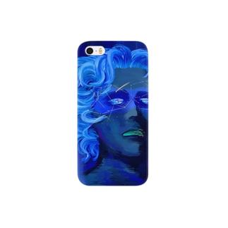 「ひとはみな自分にしか見えない宇宙を通して世界を視ている。そして宇宙が青いのは真実で出来ているから」 Smartphone cases