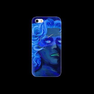 多田一穂の「ひとはみな自分にしか見えない宇宙を通して世界を視ている。そして宇宙が青いのは真実で出来ているから」 Smartphone cases