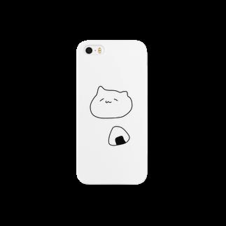 ユメノのおにぎりぬこ iPhoneケース Smartphone cases