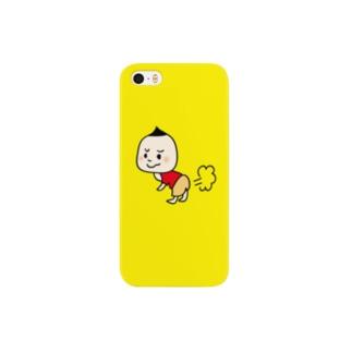 くり坊iPhoneケース-2 Smartphone cases