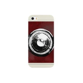 トイカメラ風ケース(赤) Smartphone cases