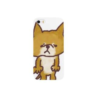 柴犬しょぼーん Smartphone cases