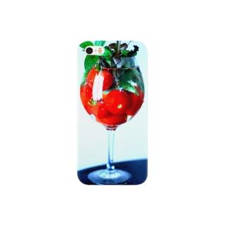 トマトのカクテル Smartphone cases