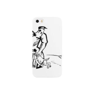 【変電社】プロレタリア漫画カット集「労働者」 Smartphone cases