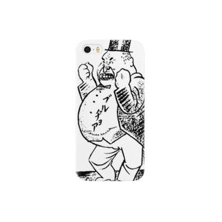 【変電社】プロレタリア漫画カット集「ブルジョア」 スマートフォンケース