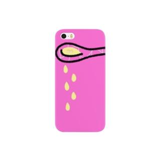 そこには何かいるモン!? in スプーン Smartphone cases