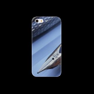 川窪カツミのVintage Sheafferスマートフォンケース