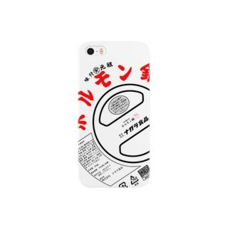 ナガラ食品ホルモン鍋デザインのiphoneケース スマートフォンケース