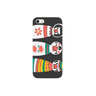 ブンチョこけし Smartphone cases
