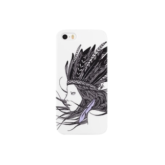 Feather Girl Smartphone cases
