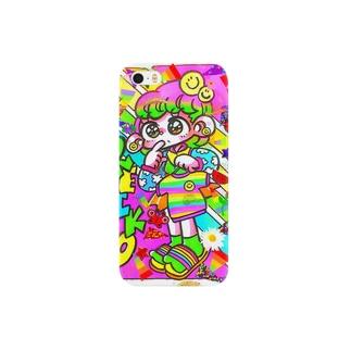 かねぴーレインボー Smartphone cases