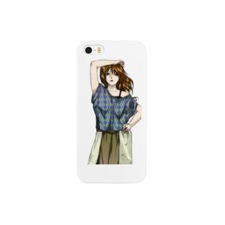 モデル風 Smartphone cases