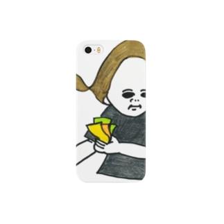 チケットさん Smartphone cases