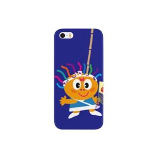 クレコちゃんのお祭りの夜 Smartphone cases