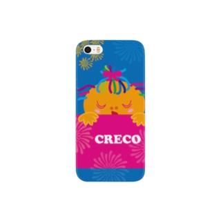 クレコちゃんの花火の夜の夢 Smartphone cases