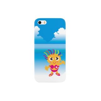 クレコちゃんの夏の海 Smartphone cases