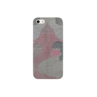 pink skeleton Smartphone cases