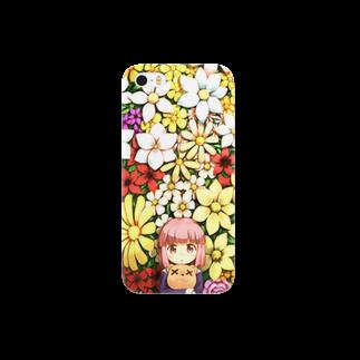 凪庵の花の園 Smartphone cases