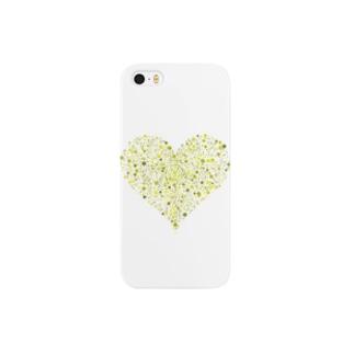 Dots Heart(Citrus) Smartphone cases