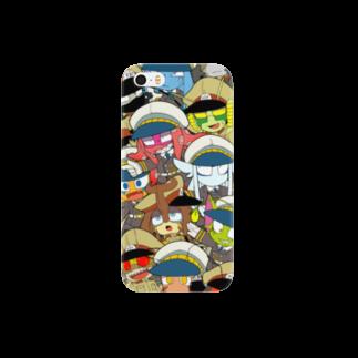 アキヤマのじんがいぐん Smartphone cases