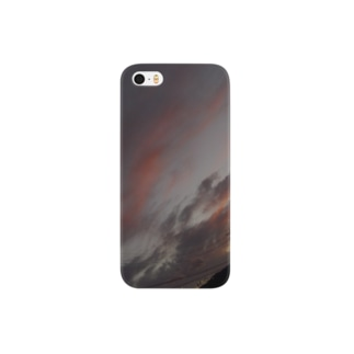 暖かい夕焼け Smartphone cases