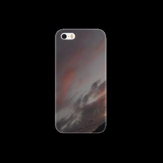 Rinの暖かい夕焼け Smartphone cases