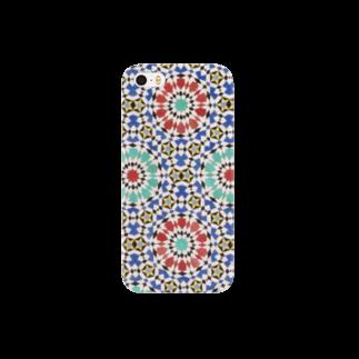 Trip Birdのモロッコのタイル1 Smartphone cases
