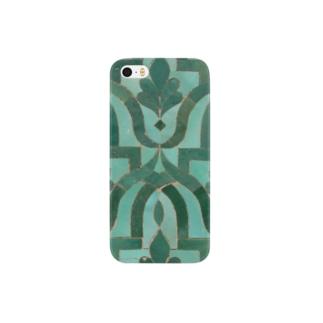 モロッコのタイル2 Smartphone cases
