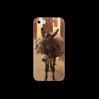 Trip Birdのモロッコのロバ1 Smartphone cases