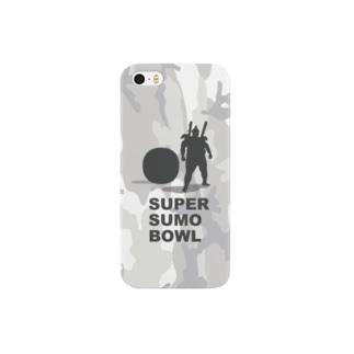 SUPER SUMO BOWLカモ Smartphone cases