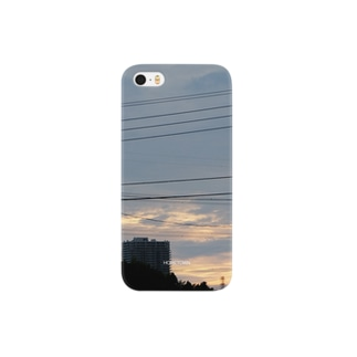 08/08 郊外夕焼 HOMETOWN Smartphone cases