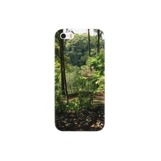 森の中の休息 Smartphone cases