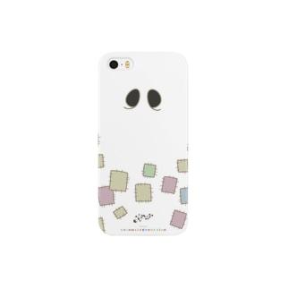 冥土の兎 白いつぎはぎ編 Smartphone cases