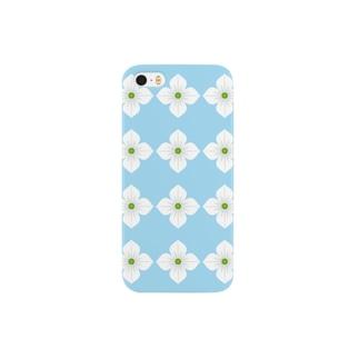 ヤマボウシ(パターン1) Smartphone cases