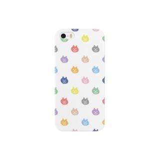 色色ねこ Smartphone cases