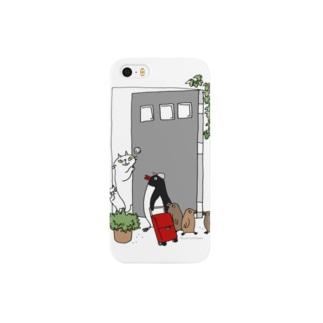 こんにちはペンギンさん Smartphone cases