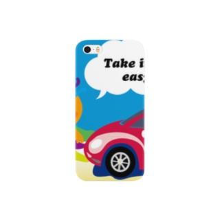 クレコちゃんのノンキな一日 Smartphone cases