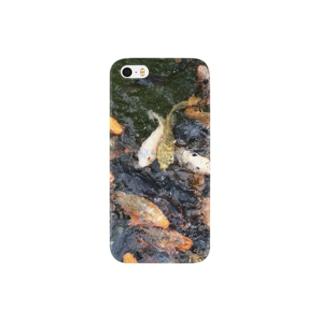 鯉の大群 Smartphone cases