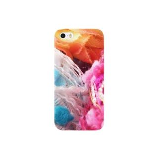 赤青黄色 Smartphone cases