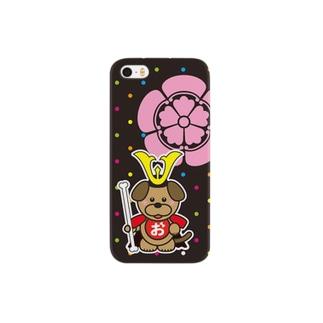 おけわんこのおけわんこ:おだわんこ-カラードット Smartphone cases