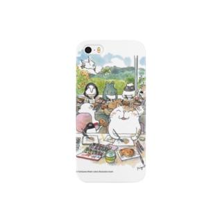水彩イラストDiary Smartphone cases