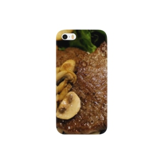 chikuwaのガッツリ和牛ステーキで乗り切ろう! Smartphone cases