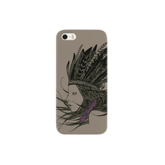 Feather Girl BR Smartphone cases