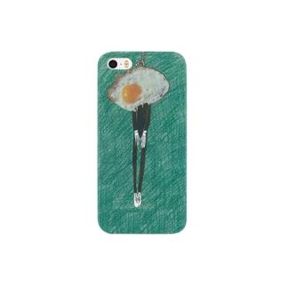 目玉焼きの自殺 Smartphone cases