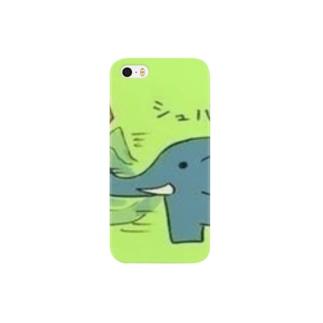 するめちゃんのぞうさんと恐竜 Smartphone cases