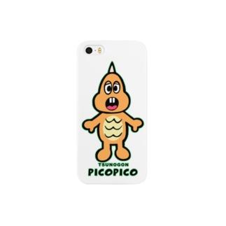 一角怪獣ツノゴン Smartphone cases