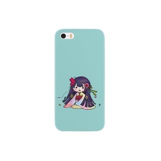 和風女子 Smartphone cases