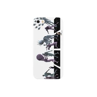 4コマ彫刻 Smartphone cases