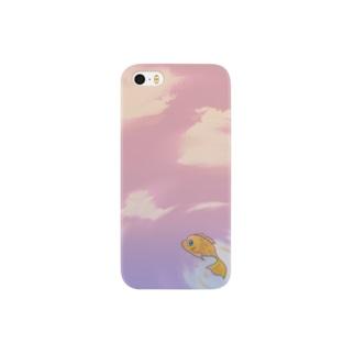 ソラオヨギ Smartphone cases