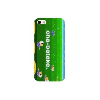 ちゃばたけ Smartphone cases